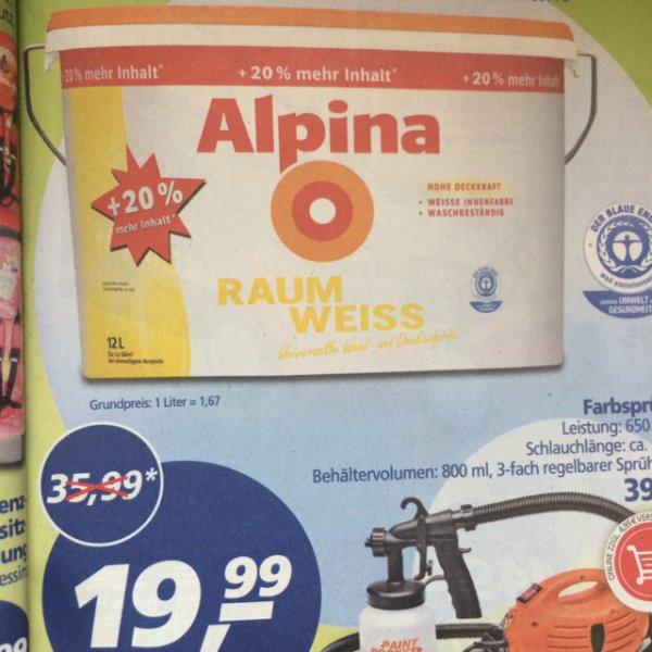 Alpina Raumweiß 12 Liter