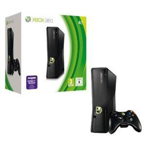 Xbox360 Slim 4GB + Spiel