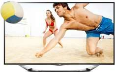 Amazon.de LG 55LA6918 139 cm (55 Zoll) Cinema 3D LED-Backlight-Fernseher, EEK A+ (Full HD, 400Hz MCI, WLAN, DVB-T/C/S, Smart TV) silber
