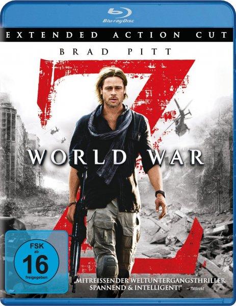 [Amazon] World War Z Bluray für 8,97€!