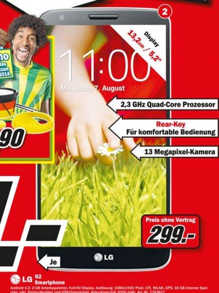 LG G2 16GB für 299€ Lokal [Mediamarkt Gütersloh]