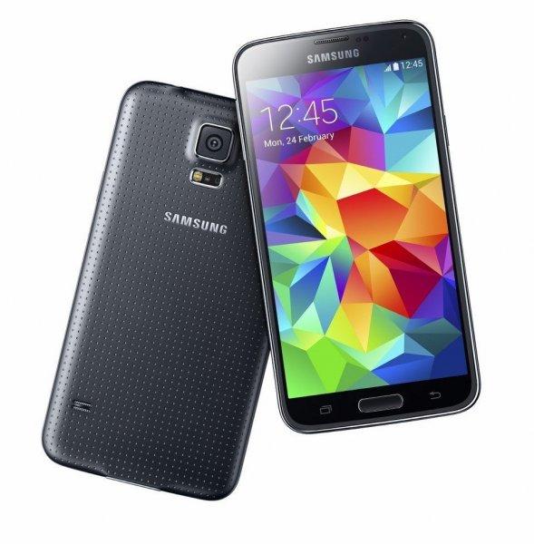 Samsung Galaxy S5 16GB Schwarz/Weiß (Ohne SIM-Lock) NEU! für 559€ bei Ebay incl.Versand