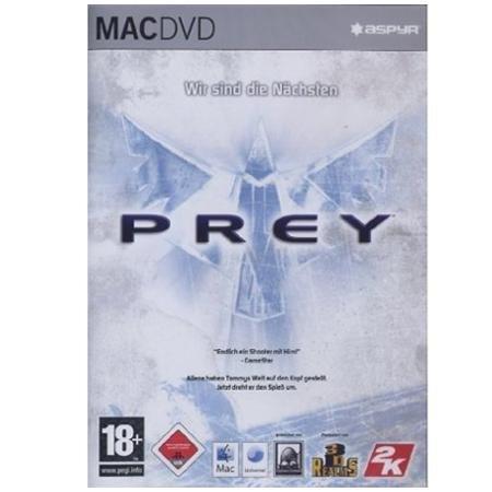 ASH Prey dt. Mac / Mac Game auf DVD für nur 1 € inkl. VSK