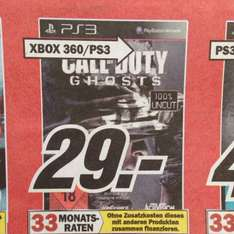 Call of Duty Ghosts PS3 Media Markt Mannheim