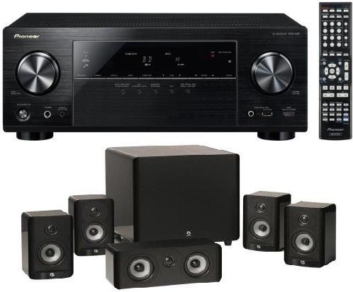 Pioneer VSX-528-K 5.1 AV Netzwerk-Receiver AirPlay mit Boston A2310HTS 5.1-Set