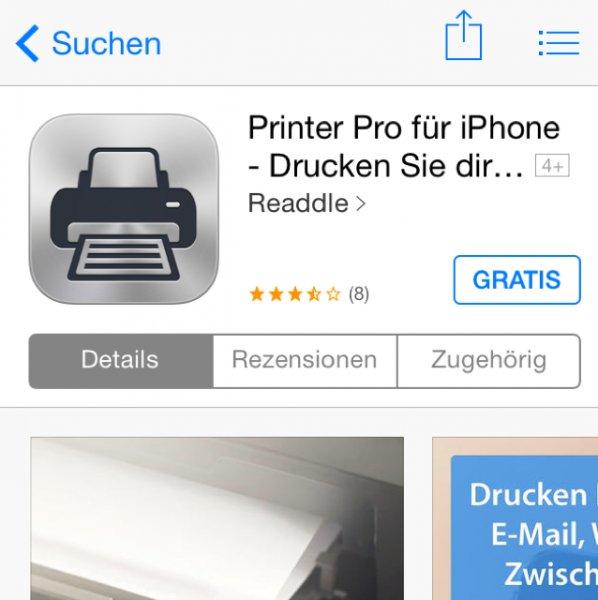 [iOS AppStore] Printer Pro für 24h kostenlos