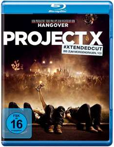 [amazon.de] Project X (Extended Cut) [Blu-ray] für 6,94 € (Prime oder Hermes)