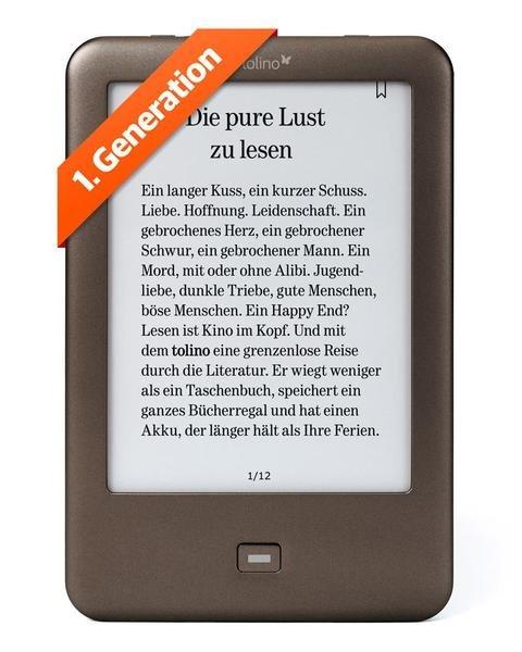 Tolino Shine 1.Generation für 62,10€ bei Buch.de/ heute auch bei thalia.de