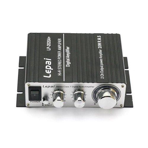 Lepai Tripath 2020A+ Class-T Hi-Fi Stereo Audio Verstärker Mit Netzteil (Schwarz)