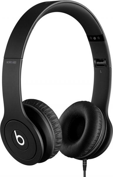 [AMAZON.ES] Beats by Dr. Dre Solo HD On Ear Headphones - Monochromatic Black für 137€