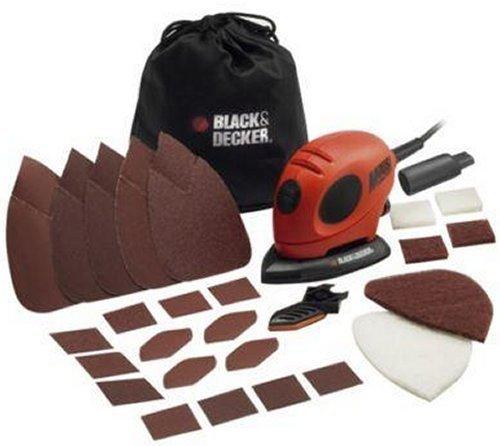 Black & Decker KA 161 Multischleifer, Zubehörset, für ~25€ @ Amazon.co.uk