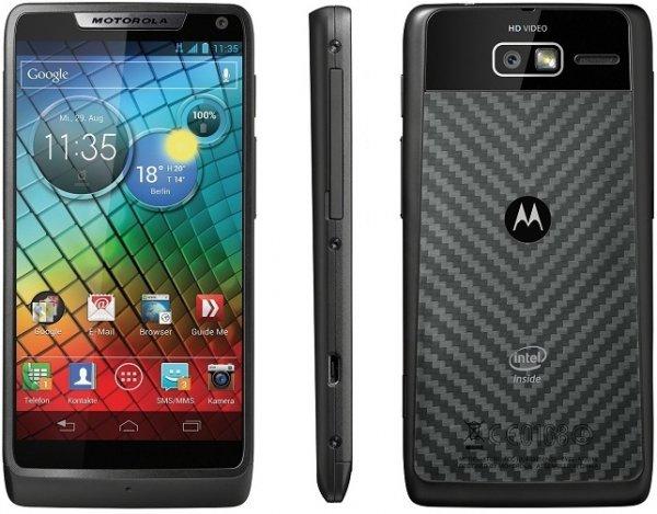 Motorola Razr i schwarz  Amazon Blitzangebot 159€