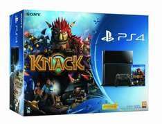 Sony PlayStation 4 (PS4) 500GB + Knack für 388€ @Amazon.co.uk WHD