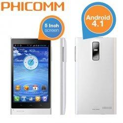 Bei Conrad B-Waren (ebay) gibt es das Phicomm i800 5' Zoll Smartphone in weiss, für nur 69,- Euro incl. VSK