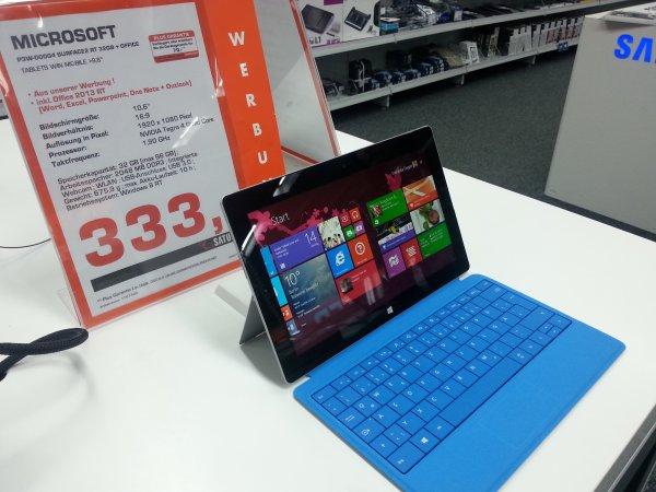 [LOKAL Bremen] Microsoft Surface 2 @Saturn City