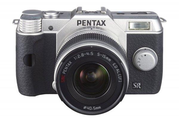 Pentax Q10 Kit 5-15 mm Silber für 193€ @Amazon.com