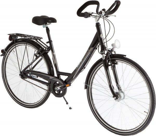 Ultrasport Damen Aluminium City-Fahrrad, 7 Gang, Rahmenhöhe 45cm, Reifengröße 28 Zoll für 166,36€ inkl. Versand @ Amazon.uk