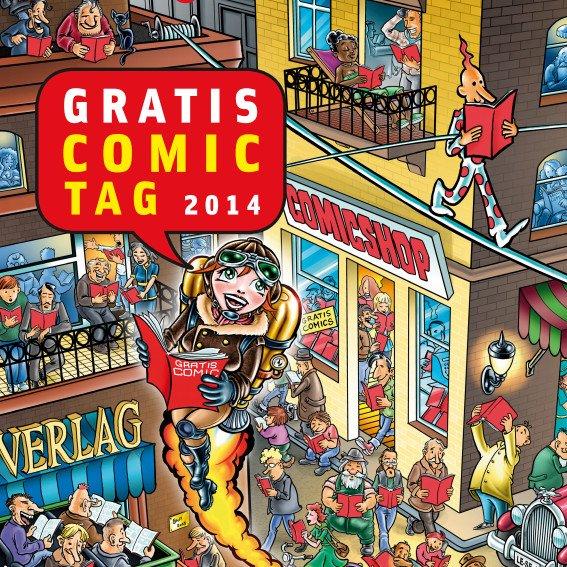 [DE,AT,CH] Gratis Comic Tag 2014 am 10.05.2014