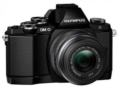 Olympus OM-D E-M10 System Kamera + M.ZUIKO DIGITAL ED 14-42mm
