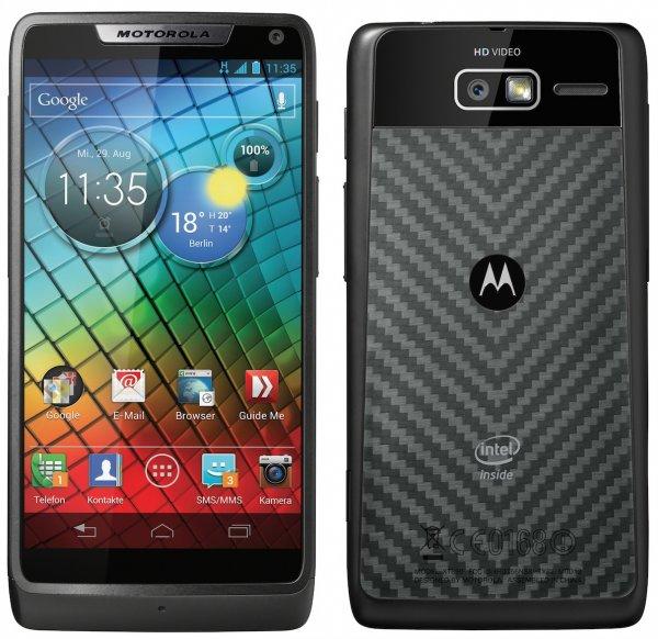 Blitzangebot bei Amazon verpasst ? Motorola RAZR i schwarz NEU inkl. durchsichtigem Case @eBay