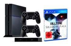 SONY PS4 + 2. Controller + PS4-Kamera + Killzone: Shadow Fall für 499€ @Saturn