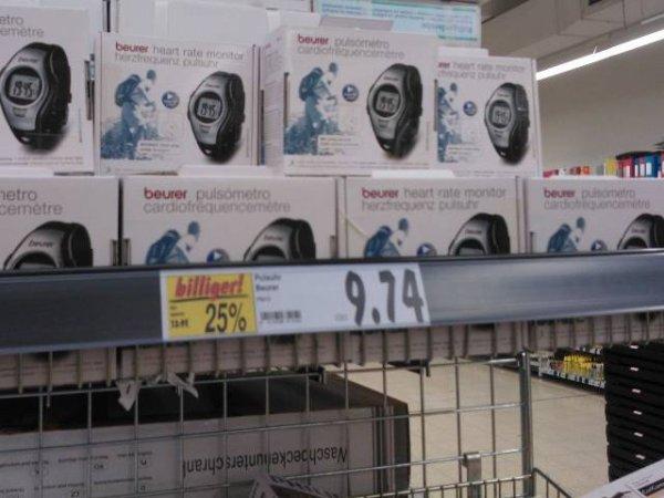 (lokal) Kaufland Backnang: Beurer PM 15 Puls-Uhr für 9,74 Euro