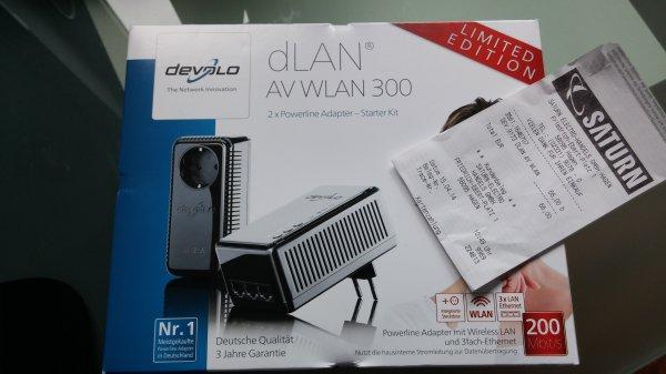 offline - devolo dLAN AV WLAN 300 Starter Kit Limited Edition Black - € 66,00 - Saturn Hagen