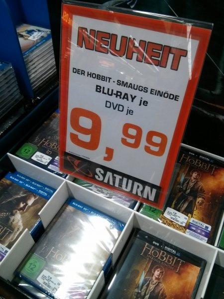 Lokal Saturn Erfurt,  Hobbit Smaugs Einöde als DVD oder Bluray