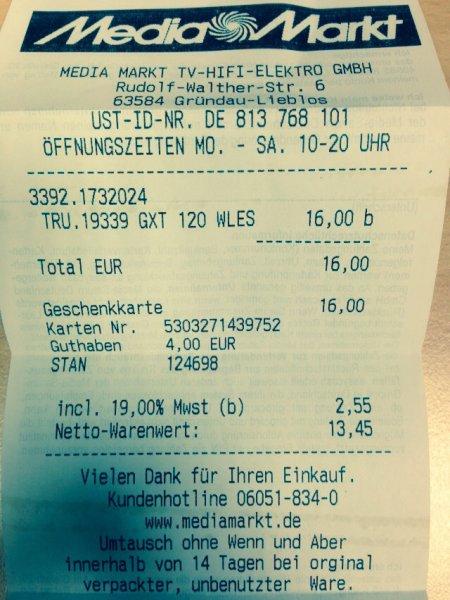 (OFFLINE!)Trust GXT 120 Funk Gaming Maus @Mediamarkt [Lokal?!]Gründau