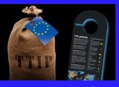 Türanhänger gegen das EU - USA Freihandelsabkommen