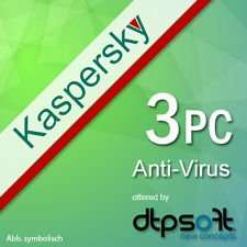 [ebay] Kaspersky Anti Virus 3PC 18,90€