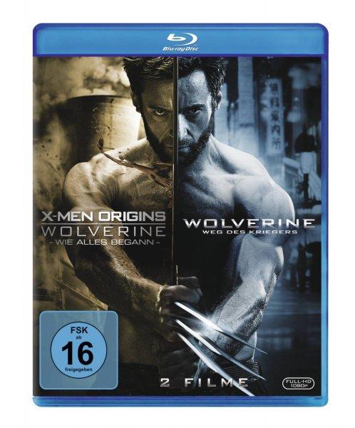 X-Men Origins - Wolverine: Wie alles begann + The Wolverine: Weg des Kriegers [Blu-ray] für 16,97 €