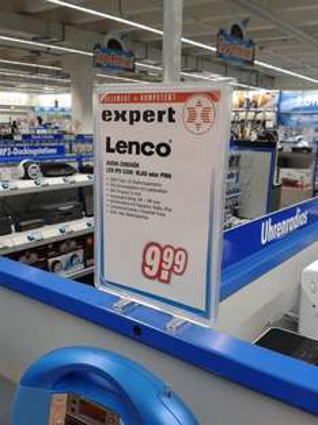 [Lokal expert Leipzig] Lenco IPD 5200 in blau oder pink
