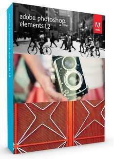 Adobe Photoshop Elements 12 DE nur 44,-€ WIN/Mac Box Vollversion