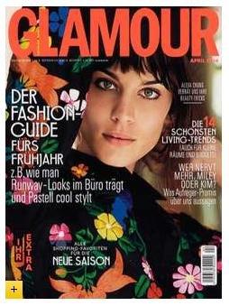 Glamour Zeitschrift @ Leserservice - 6 Monate für 10,25€ + 10,20€ Payback oder 15€ MeinPaket