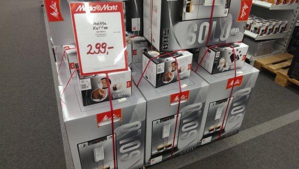 Media Markt [Lokal Berlin-Eiche im Kaufpark Eiche] Melitta Caffeo Solo E 950 + Melitta Cremio für 299,00 € - Vergleichspreis derzeit bei idealo kommt ihr in Summe auf 351,93 €
