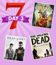 [Steam] Days of Deals 3 - GreenManGaming 75% auf Half Life 1+2 / The Walking Dead 1 (Kompletter Sale geht ab 1,24€ los)