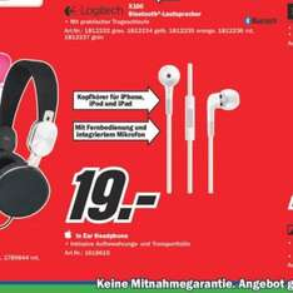 Apple In Ear Kopfhörer