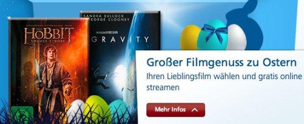 [für O2 Kunden] O2 Videothek, kostenloser Film zu Ostern - 10000 Gutscheine