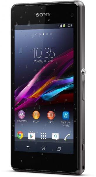 """Sony Xperia Z1 Compact Black / 4,3"""" / 2,2GHz QuadCore / Wasserdicht / 20,7 Megapixel / Android 4.3 / für 379 EUR @hoh.de"""