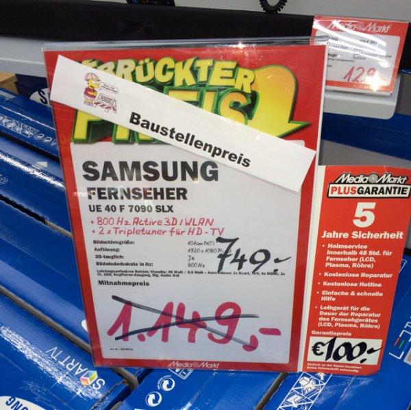 [MM BOCHUM RUHRPARK ] Samsung 40F7090 und 46F7090 Baustellenpreise