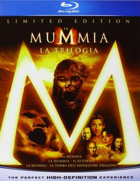 3x Die Mumie Trilogie Box (9 Blu-Rays)für 12,84€ inkl. Versand@Amazon.it inkl. Versand