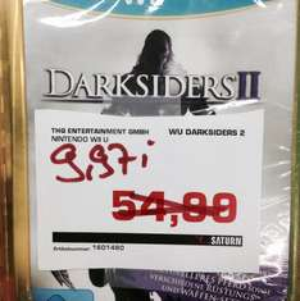 [Lokal Aachen] Darksiders 2 Wii U @Saturn für 9,97