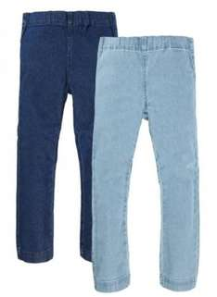 NAME IT Mädchen Jeans 2 er Pack - 13081244 - 7,95 + 3,50 Versand