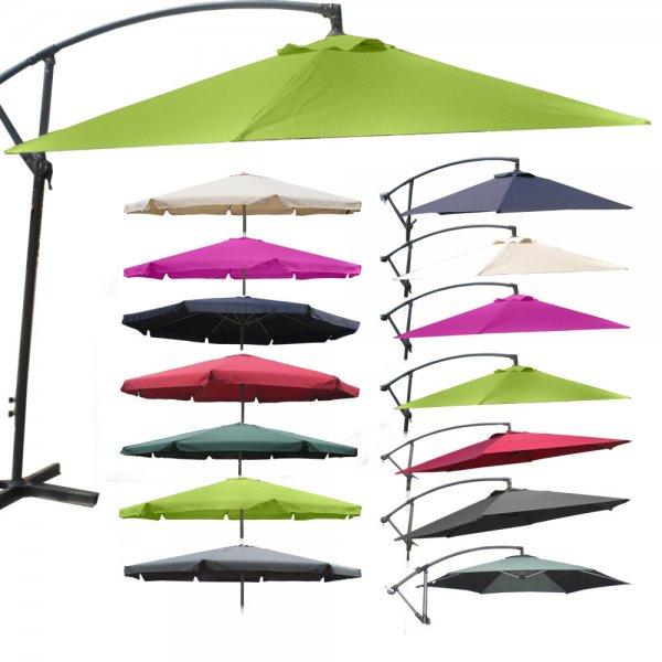 Sonnenschirm 4m Gartenartikel  44%  55,55 Euro @ebay