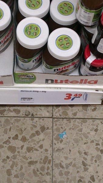 880 Gramm Nutella für 3,49€ im Real Bremerhaven