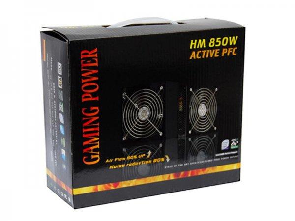 Gaming Power Netzteil Active PFC 850 Watt Versandkostenfrei Neu