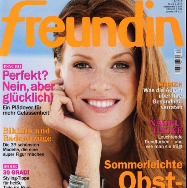 """13 Ausgaben (ein Halbjahr) Zeitschrift """"Freundin"""""""