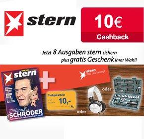 """[Qipu] 8 Ausgaben """"Stern"""" für 19,90€ + 10€ Amazongutschein+ 10€ Cashback"""