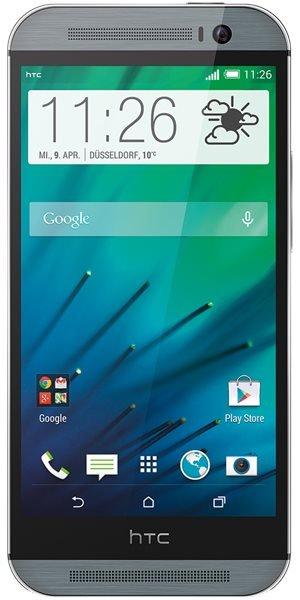 HTC One M8 Grau für 579€ bei Base/Smartkauf
